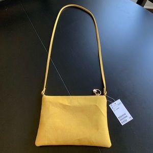 NWT mustard satchel purse